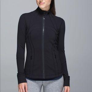 Lululemon define jacket size 6 black